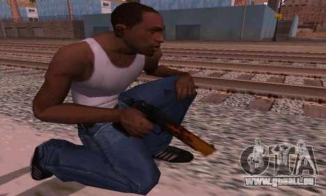 Deagle Flame pour GTA San Andreas troisième écran