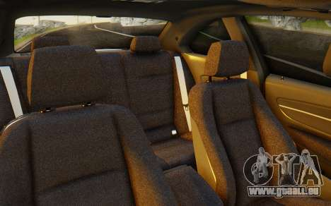 BMW 1M E82 pour GTA San Andreas vue intérieure