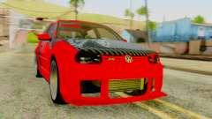 Volkswagen Golf R32 Edition Tribal pour GTA San Andreas