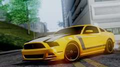 Ford Mustang Boss 302 2013 pour GTA San Andreas