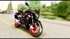 Kawasaki Z250SL Red