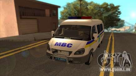 GAZelle 2705 Minesweeper Ukraine für GTA San Andreas