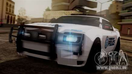 Hunter Citizen from Burnout Paradise v3 pour GTA San Andreas