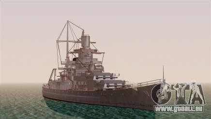 Scharnhorst Battleship für GTA San Andreas
