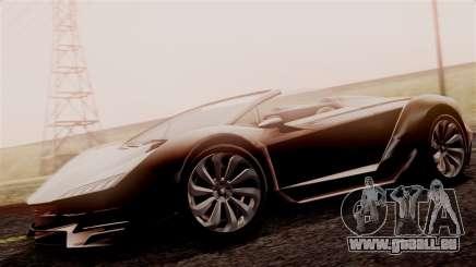 Pegassi Zentorno Cabrio v2 für GTA San Andreas