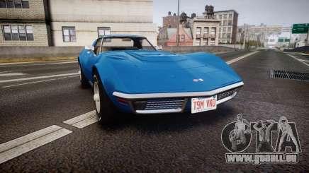 Chevrolet Corvette ZR1 1970 [EPM] pour GTA 4