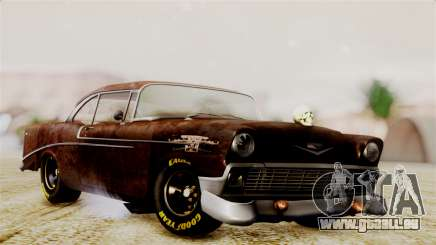 Chevrolet Bel Air 1956 Rat Rod Street pour GTA San Andreas
