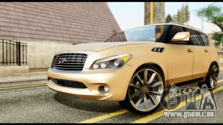 Infiniti QX56 Final pour GTA San Andreas