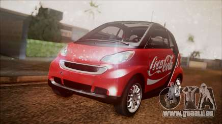 Smart ForTwo Coca-Cola Worker pour GTA San Andreas