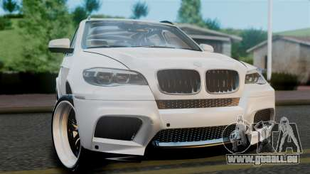 BMW X5M 2014 E-Tuning pour GTA San Andreas