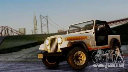 Jeep CJ-7 Renegade 1982 pour GTA San Andreas