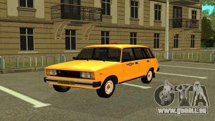 VAZ 2104 Taxi für GTA San Andreas