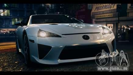 Lexus LF-A 2010 EPM pour GTA 4