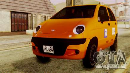 Daewoo Matiz Taxi für GTA San Andreas