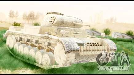 Panzerkampwagen II Desert pour GTA San Andreas