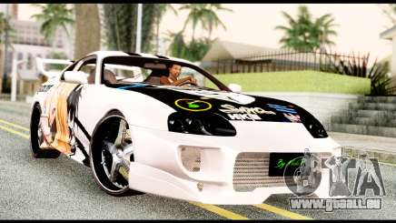 Toyota Supra Full Tuning v2 pour GTA San Andreas