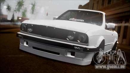 BMW E30 Cabrio B. O. Bau für GTA San Andreas