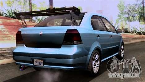 GTA 5 Declasse Asea IVF für GTA San Andreas linke Ansicht