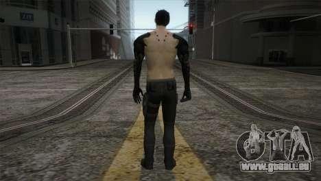 Adam Jensen pour GTA San Andreas troisième écran