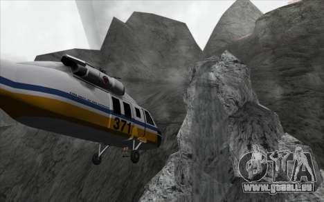 Cascade v0.1 Beta pour GTA San Andreas deuxième écran