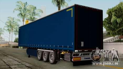 Trailer Krone Profiliner v2 pour GTA San Andreas laissé vue