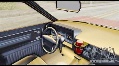 GTA 5 Cheval Picador pour GTA San Andreas vue de droite