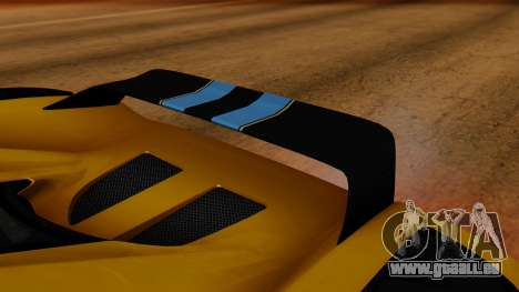 Koenigsegg Agera 2011 für GTA San Andreas Innenansicht