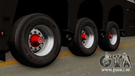Trailer Glass v2 pour GTA San Andreas sur la vue arrière gauche