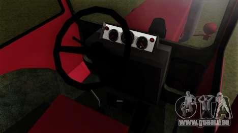 Tracteur MTZ80 pour GTA San Andreas vue de droite