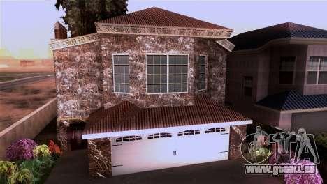 Le manoir dans le style de Scarface pour GTA San Andreas