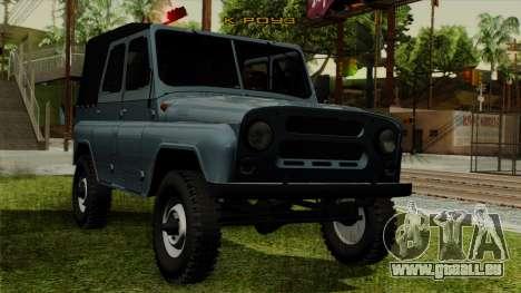 UAZ-3151 für GTA San Andreas