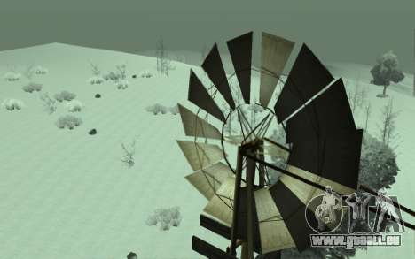 L'Hiver Timecyc pour GTA San Andreas