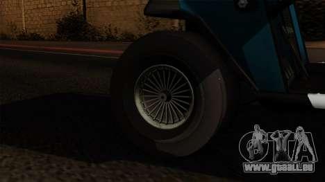 E-Z-GO Golf Cart v1.1 pour GTA San Andreas sur la vue arrière gauche