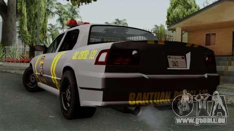 Indonesian Police Type 1 pour GTA San Andreas laissé vue