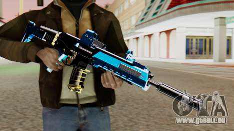 Fulmicotone M4 pour GTA San Andreas troisième écran