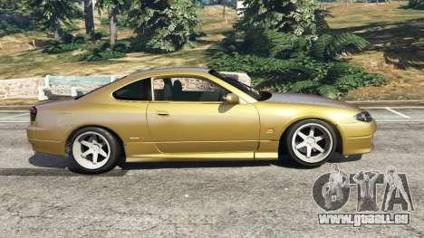 Nissan Silvia S15 (Wide & Camber) v0.1 für GTA 5