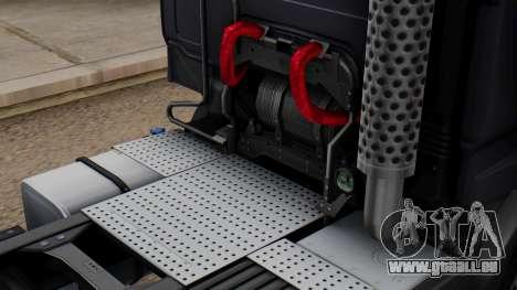 Renault Premuim 6x4 für GTA San Andreas Rückansicht