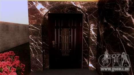 Le manoir dans le style de Scarface pour GTA San Andreas deuxième écran