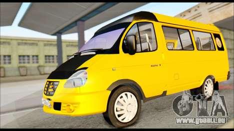 GAZelle 3221 2007 Endgültig für GTA San Andreas