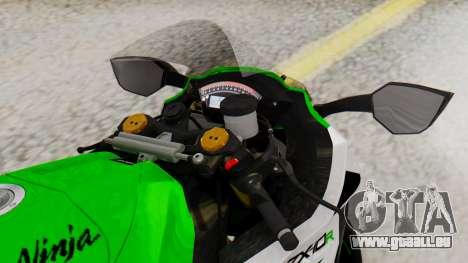 Kawasaki ZX-10R 2015 30th Anniversary Edition pour GTA San Andreas vue de droite