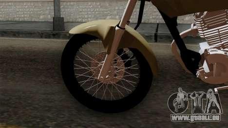 CB1 Stunt Imitacion pour GTA San Andreas sur la vue arrière gauche