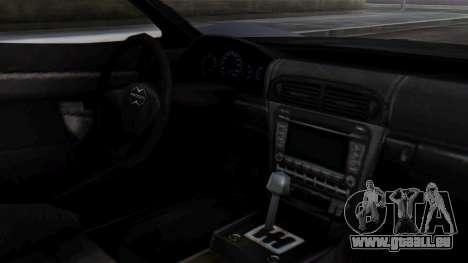 Progen T20 GTR für GTA San Andreas rechten Ansicht