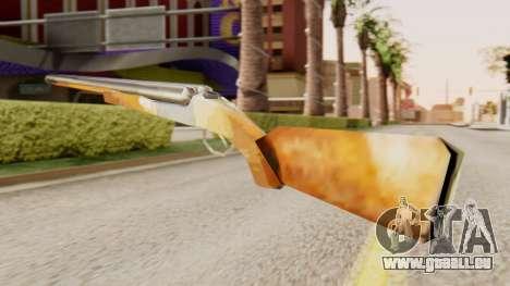 Vollversion Doppel-Schrotflinten für GTA San Andreas zweiten Screenshot
