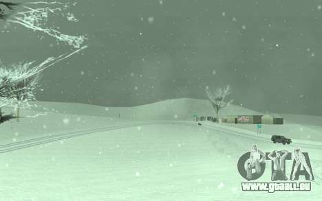 Winter Timecyc für GTA San Andreas dritten Screenshot