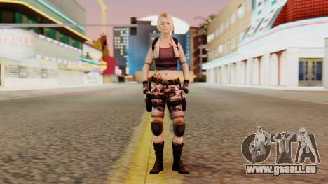 Wild Child from Resident Evil Racoon City pour GTA San Andreas deuxième écran