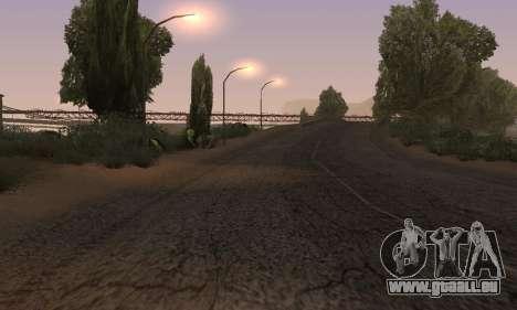 Les lumières de San Fierro, Las Venturas pour GTA San Andreas huitième écran