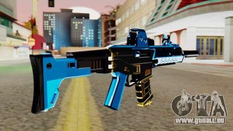 Fulmicotone M4 pour GTA San Andreas deuxième écran