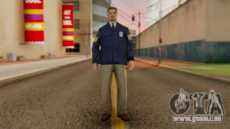 FBI Skin pour GTA San Andreas deuxième écran
