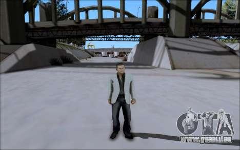 La Cosa Nostra Skin Pack pour GTA San Andreas cinquième écran