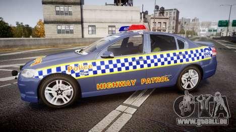Holden VE Commodore SS Highway Patrol [ELS] v2.1 pour GTA 4 est une gauche